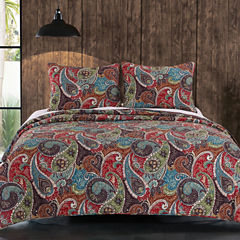 Greenland Home Fashion Tivoli Quilt Set