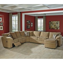 Signature Design by Ashley® Coats 4-pc. Reclining Loveseat Sectional