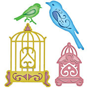 Spellbinders™ Shapeabilities® Bird Sanctuary Die