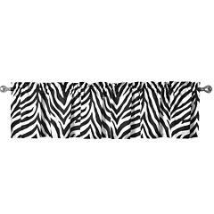 Sassy Zebra Valance