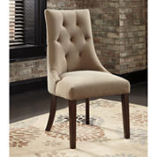 Signature Design by Ashley® Mestler Set of 2 Upholstered Dining Side Chairs