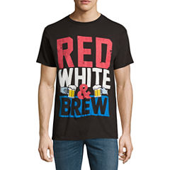 Red White Brew Short-Sleeve Graphic T-Shirt