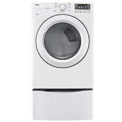 LG 7.4 cu. ft. Ultra Large Capacity Electric Dryer w/ NFC Tag On Technology