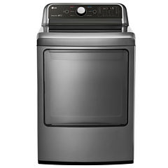 LG 7.3 Cu. Ft. Super Capacity Gas Dryer with Sensor Dry Technnology