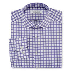 Collection by Michael Strahan Long-Sleeve Cotton Dress Shirt - Big & Tall