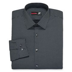 JF J. Ferrar® Long-Sleeve Slim Stretch Dress Shirt