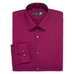 JF J. Ferrar® Long-Sleeve Easy-Care Solid Dress Shirt