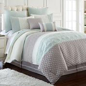 Pacific Coast Textiles Palisades 8-pc. Reversible Comforter Set
