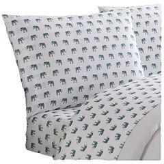 Truly Soft Everyday Elephant Microfiber Sheet Set