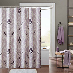 INK+IVY Sasha Cotton Shower Curtain