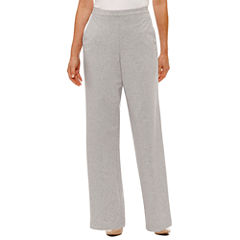Alfred Dunner Long Weekend French Terry Pull-On Pants