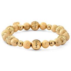 Monet® Gold-Tone Beaded Stretch Bracelet