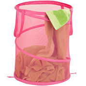 Honey-Can-Do® Large Mesh Pop-Open Hamper