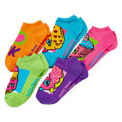 Shopkins 5-pk. I Heart Socks - Girls