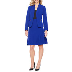 Black Label by Evan-Picone Long Sleeve Jacket or Suit Skirt