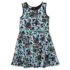 Marmellata Sleeveless Skater Dress - Big Kid Girls