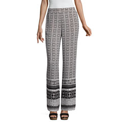 by&by Bordered Palazzo Pants-Juniors