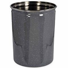 Scribble Spatterware Waste Basket