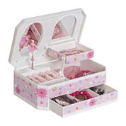 Mele & Co. Hayley Ballerina Girls Jewelry Box