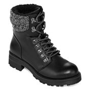 Mia Lace-Up Combat Boots