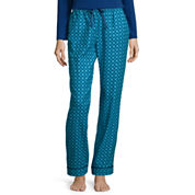 Liz Claiborne® Flannel Pajama Pants