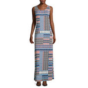 MSK Printed Tank Maxi Dress - Petite