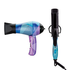 Fhi Heat Platform Limited Edition Travel Dryer And Curling Iron - Geometric