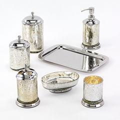 Avanti Mercury Crackle Bath Collection