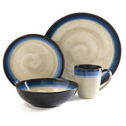 Gibson® Elite Talbot 16-pc. Reactive Glaze Dinnerware Set