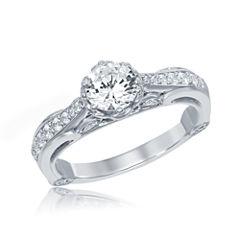 Enchanted by Disney 1 C.T. T.W. Diamond 14K White Gold