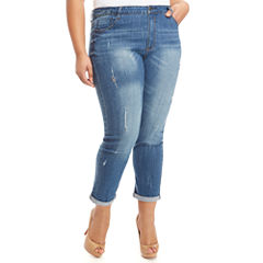 Fashion To Figure The Boyfriend Jeans Womens Plus
