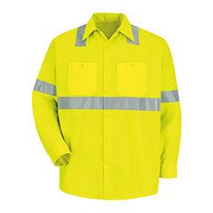 Red Kap® Long-Sleeve Visibility Shirt