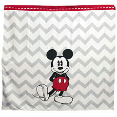 Disney Chevron Mickey Mouse Shower Curtain