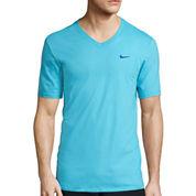 Nike® V-Neck Swoosh Tee
