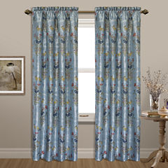 United Curtain Co. Jewel Rod-Pocket Curtain Panel