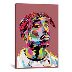 Icanvas Tupac Canvas Art