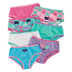 Okie Dokie® 7-pk. Cotton Cat Briefs - Toddler Girls 2t-5t