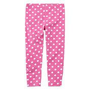 Okie Dokie® Printed Leggings - Toddler Girls 2t-5t