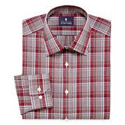 Stafford® Travel Long-Sleeve Easy-Care Broadcloth Dress Shirt