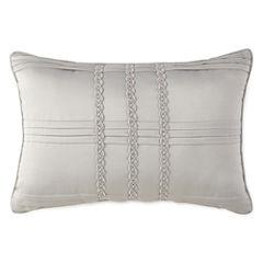 Liz Claiborne® Kimono Oblong Pleated Decorative Pillow