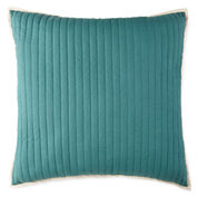 JCPenney Home™ Tapestry Stripe Euro Pillow