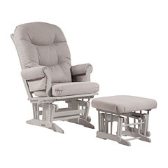 Dutailier® Light Sleigh Glider and Ottoman