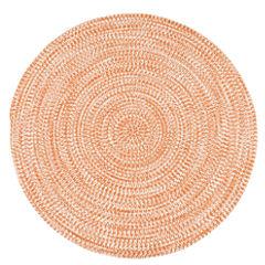 Colonial Mills Biscayne Tweed Braided Round Reversible Rugs