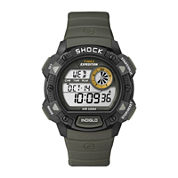 Timex® Expedition® Mens Shock-Resistant Sport Chronograph Watch T499757R