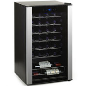 Wine Enthusiast® 34-Bottle Evolution Series Wine Refrigerator