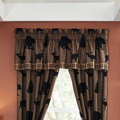 Croscill Classics® Shadow Bears Rod-Pocket Lined Valance