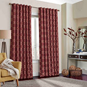 Eclipse Correll Rod-Pocket Curtain Panel