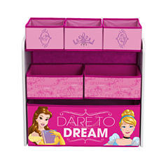 Disney Princess 6-Cubby Toy Organizer