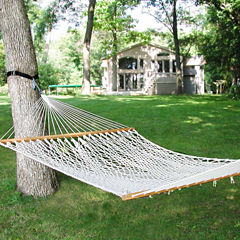 15-Foot Double Cotton Rope Hammock