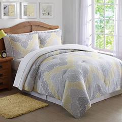 Laura Hart Kids Antique Chevron Twin/Xl Comforter Set Lightweight Comforter Set